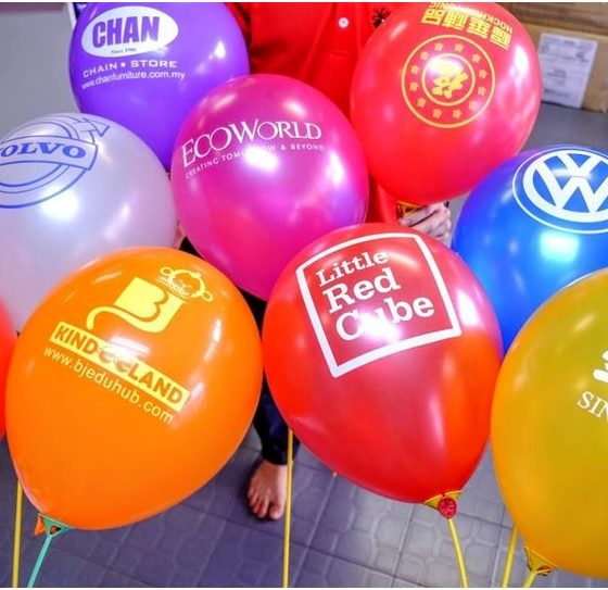 Promotional Logo Balloons To Market Your Business
