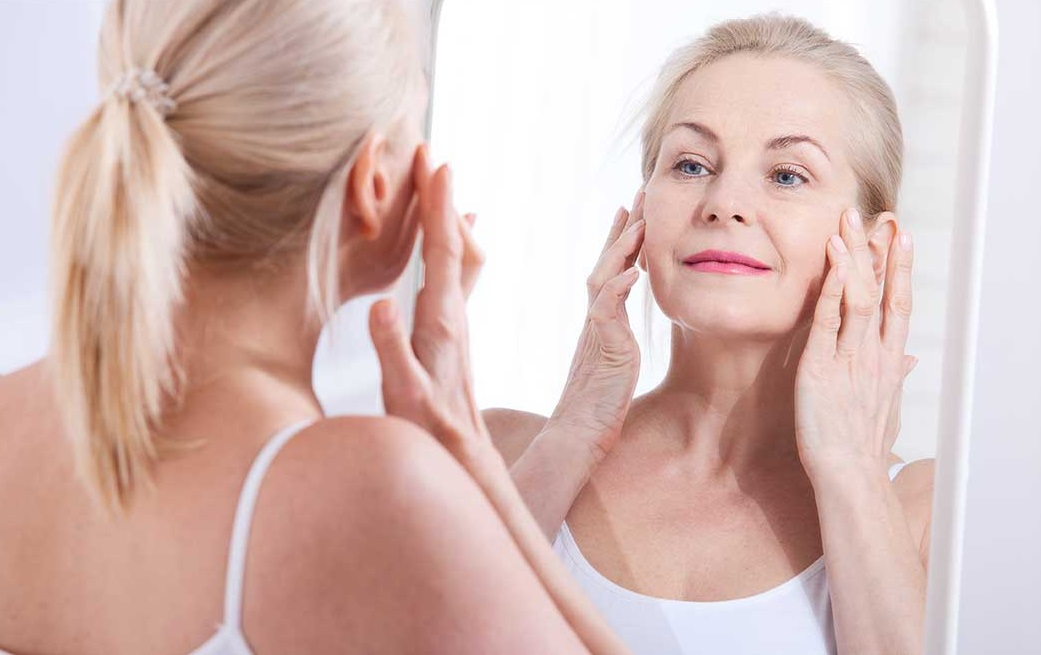 Chronic inflammation of the facial skin