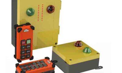 Wireless Remote Controls for Cranes